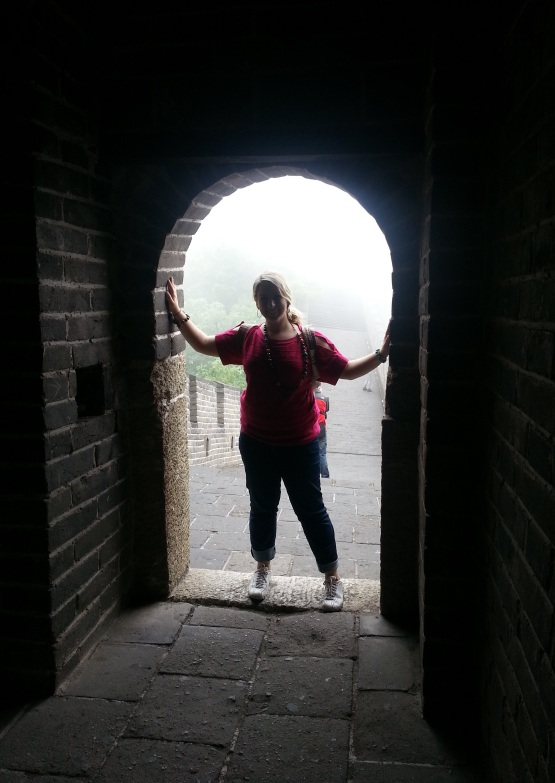 Alyssa at great wall to use