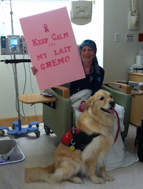 Jaynette last chemo