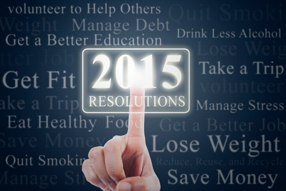 Finger with resolution button of 2015