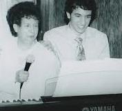 Sam Brooks with grandma