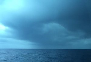 Dawnetta looming clouds